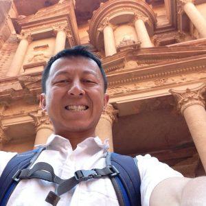 Halef in Petra