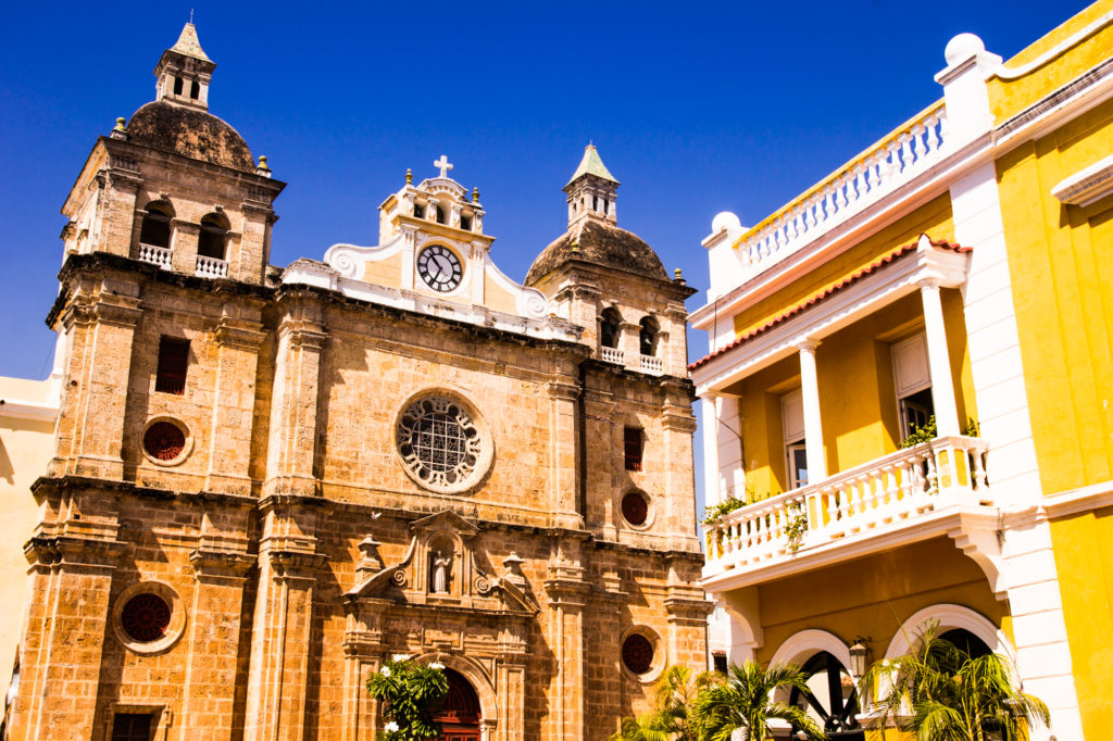 The old and the relatively new in Cartagena