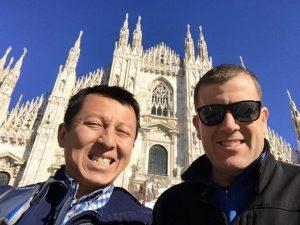 Michael & Halef in Naples