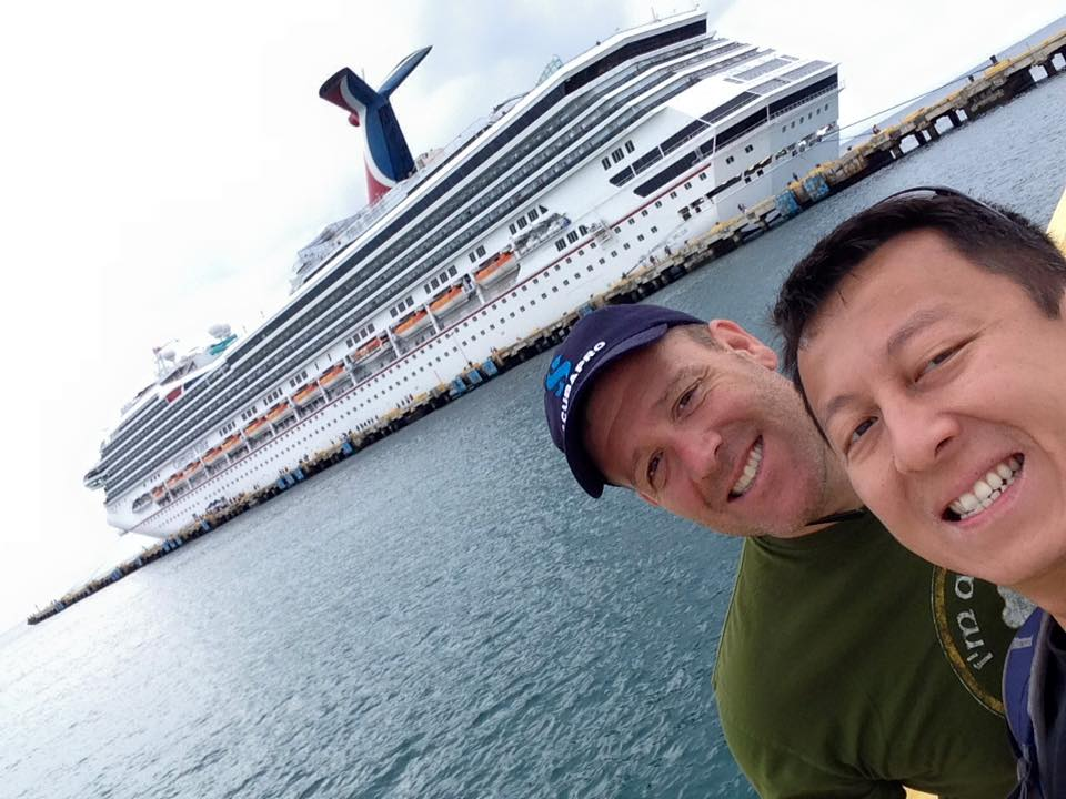 Traveling with aging parents: Getting ready to board!