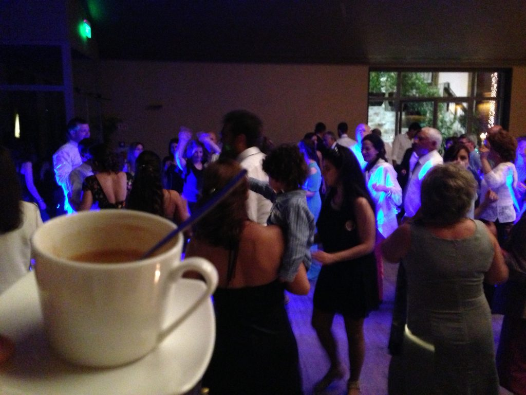 Portuguese Wedding: Espresso shot is helpful for partying all night long!
