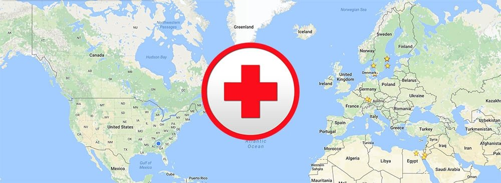 do you need travel insurance - world map