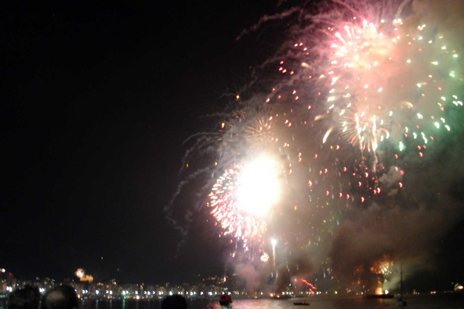 Brazilian New Year's Eve fireworks