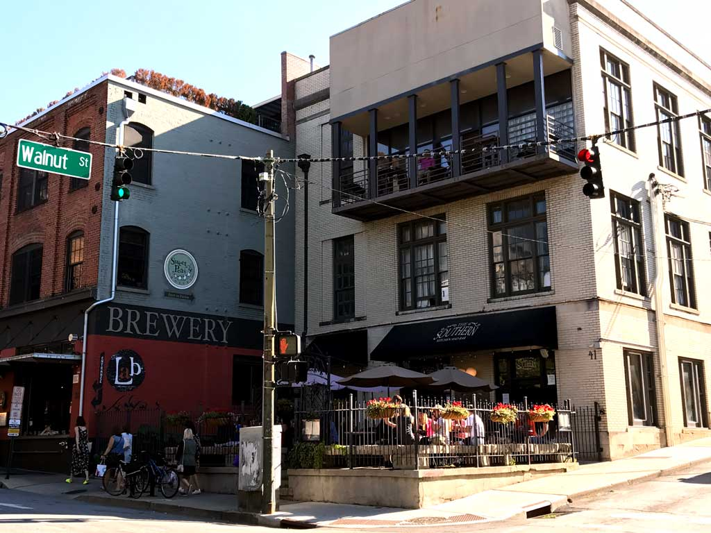 Sweet Peas Hostel Asheville located in Asheville city center.