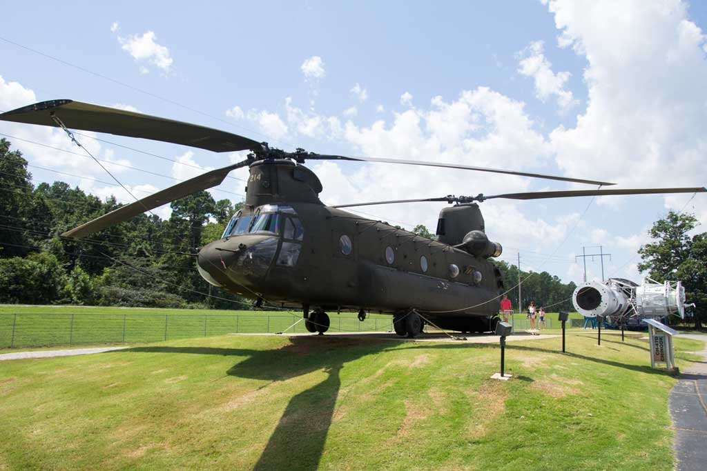 U.S. Space and Rocket Center - A Chinook Helicopter