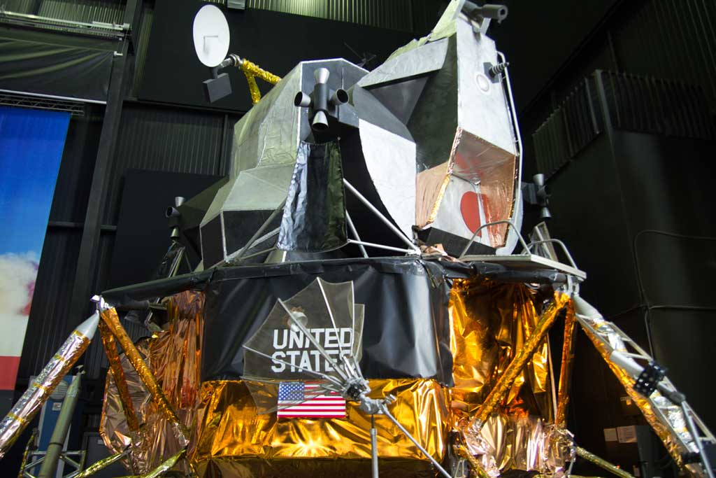 U.S. Space and Rocket Center - A mockup of the Apollo 11 landing module