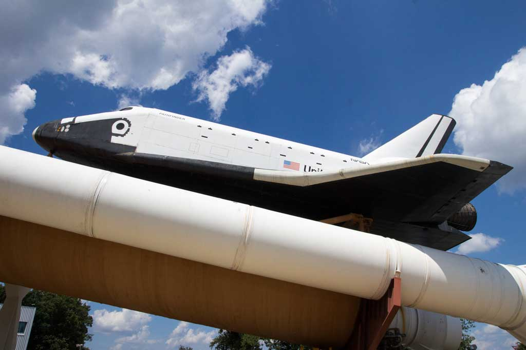 U.S. Space and Rocket Center - The Space shuttle Pathfinder