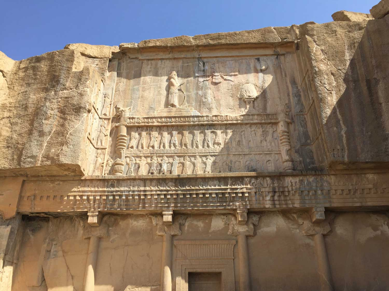 Highlights of persepolis - The tomb ofArtaxerxes II