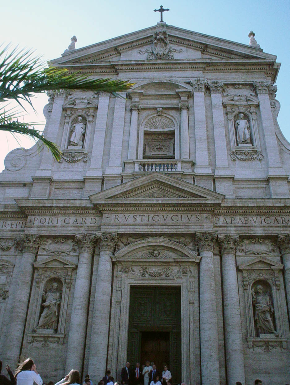 lesser known roman churches - santa susanna