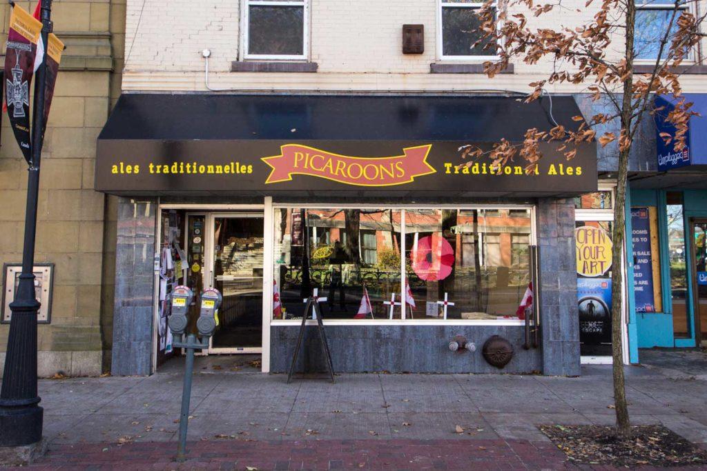 Best Craft Beer in Fredericton - Picaroons Store - Queen Street