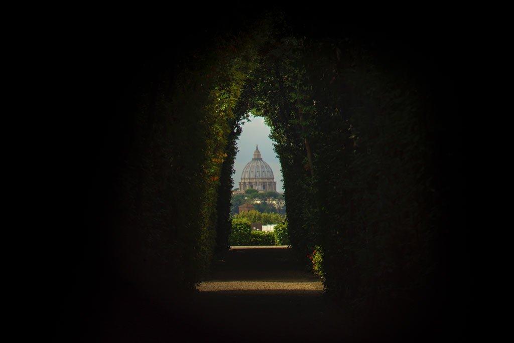 best kept secrets of Rome - Knights of Malta Keyhole