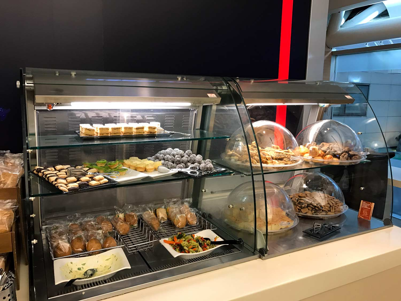 HSBC Premier Lounge Food