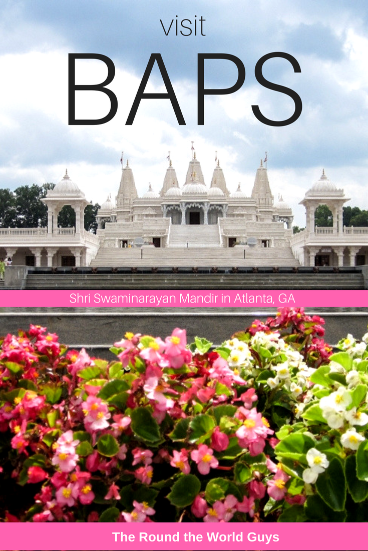 "One of our favorite ""off the beaten path"" places to visit in our city is BAPS Hindu Mandir Atlanta – officially known as BAPS Shri Swaminarayan Mandir. It's a little bit of India just outside of Atlanta, Georgia."