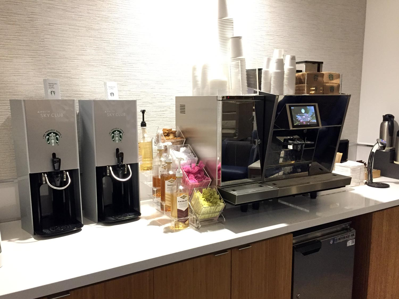 Delta Sky Clubs in Atlanta - Coffee