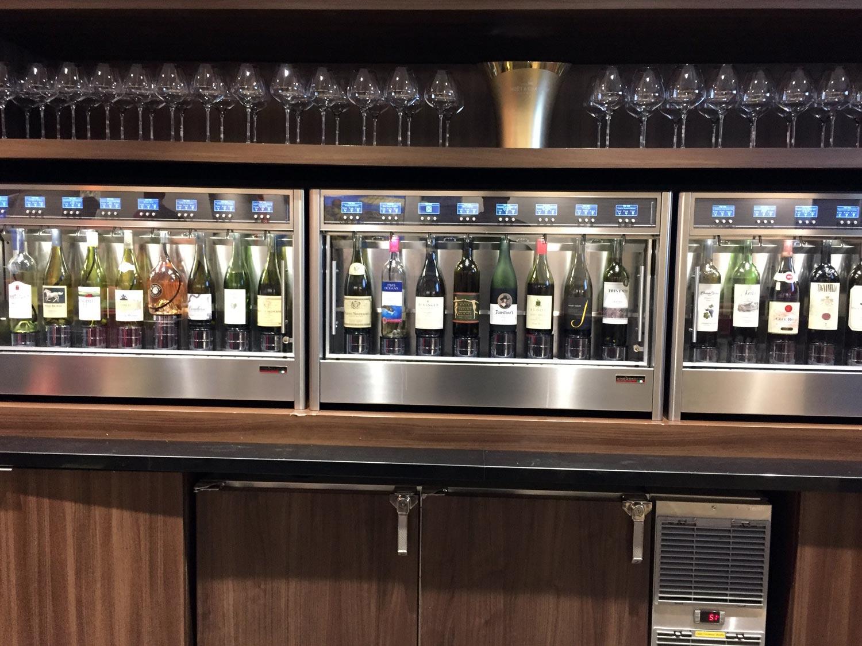Delta Sky Clubs in Atlanta: Wine