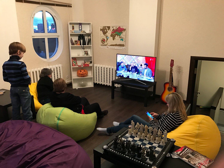 Are Hostels Better Than Hotels? dreamy castle hostel minsk tv room