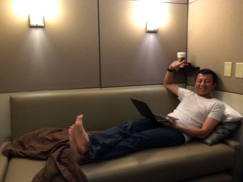 Minute suites at atlanta airport Halef relaxing