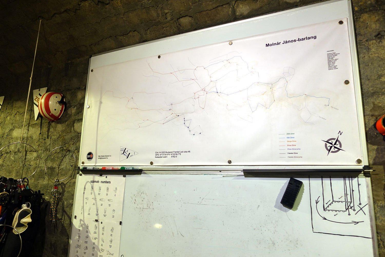 molnar janos budapest cave diving maps