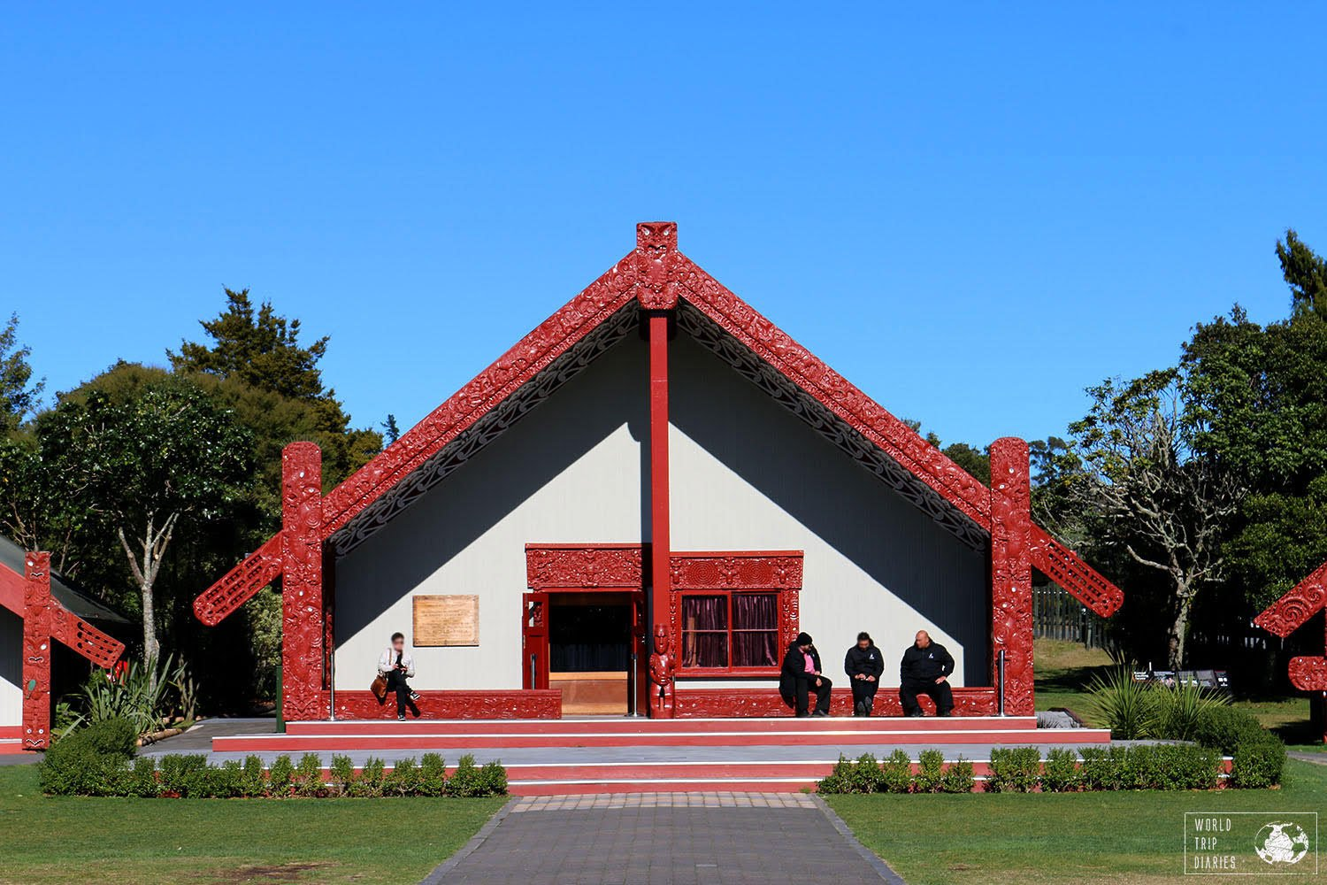 South Pacific Island Vacation destinations - Rotorua maori meeting house