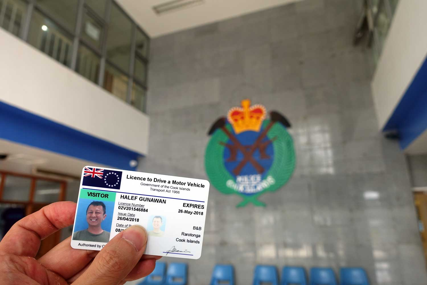 Cook Islands Drivers License