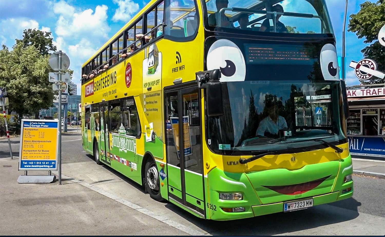 Vienna hop on hop off bus