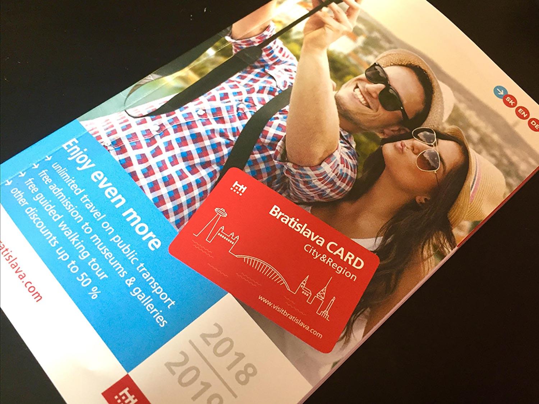 bratislava city pass guide book