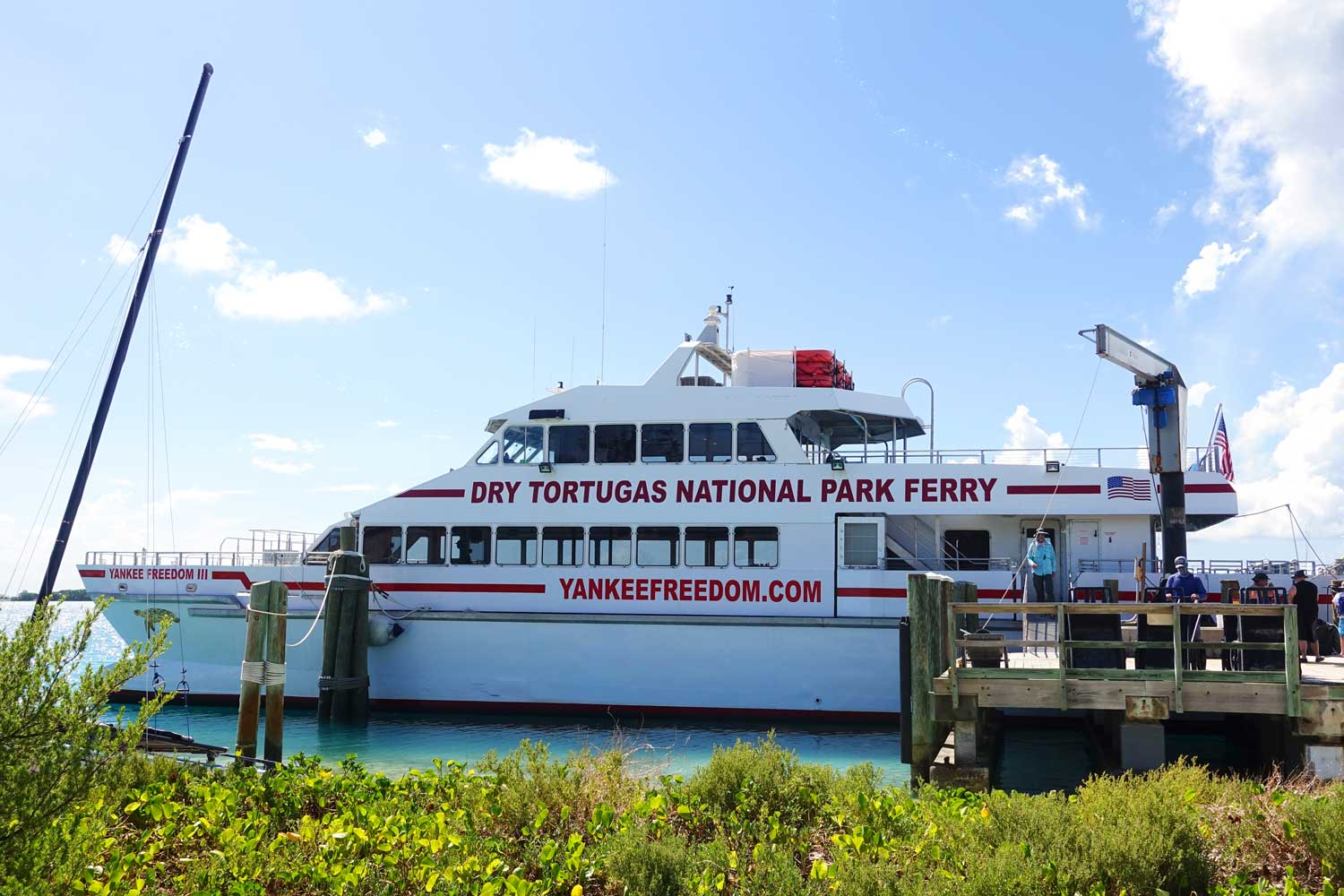 dry tortugas national park ferry