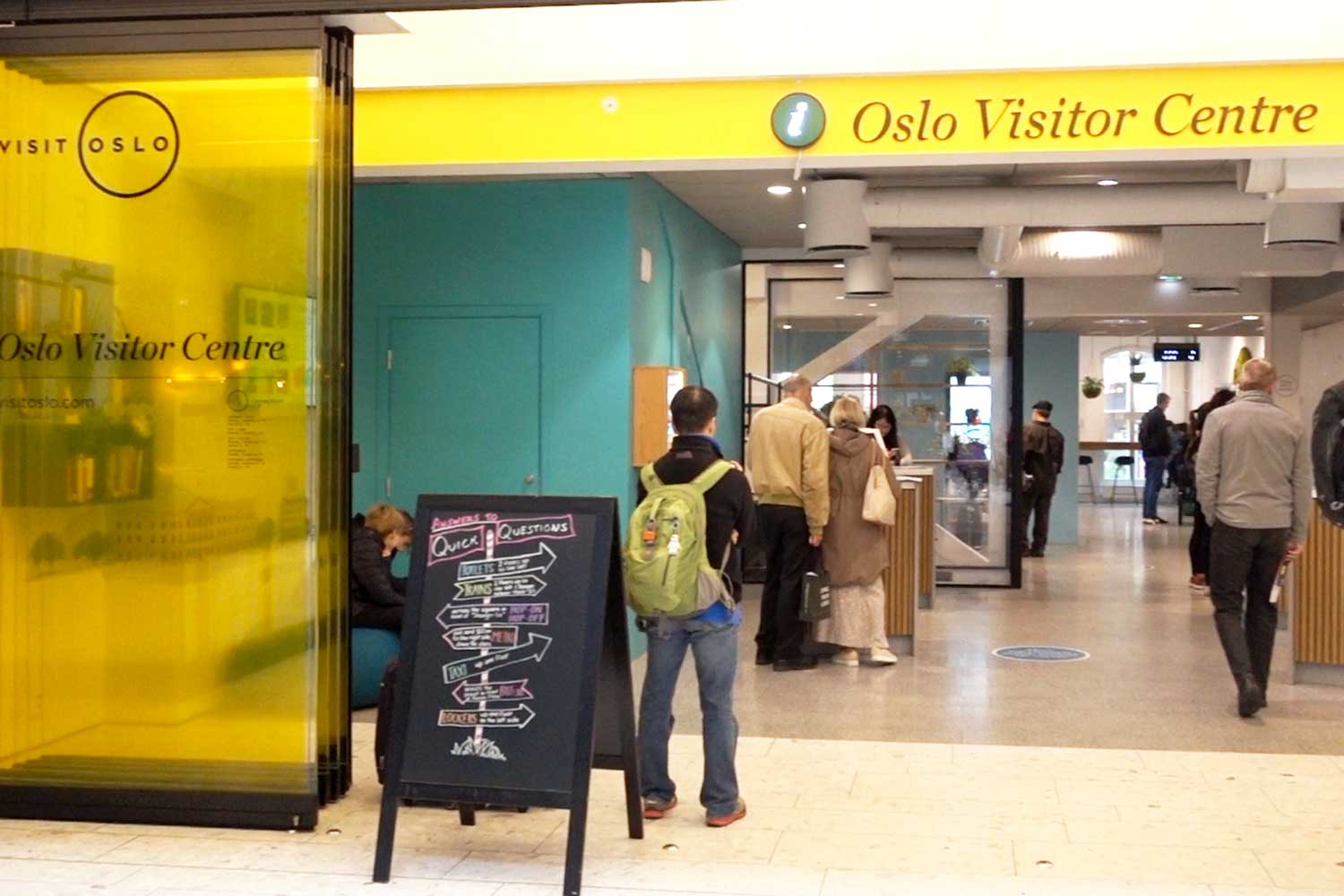 Get your Oslo Pass here at the visitors center